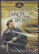 DANCES WITH WOLVES Kevin Costner  Winner of 7 Academy Awards NEW MGM DVD