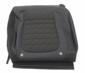 Marvelous Details About New Oem Volkswagen Beetle Rear Right Upper Seat Cover Black Cloth Leather Creativecarmelina Interior Chair Design Creativecarmelinacom