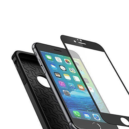 finest selection 78bd1 935d3 Anker Bumper Case and Tempered Glass Screen Protector Combo for iPhone 6/6s