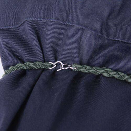 FJ 2× Outdoor Camping Leggings Rope Belt String Jungle Army Boots Rubber Band