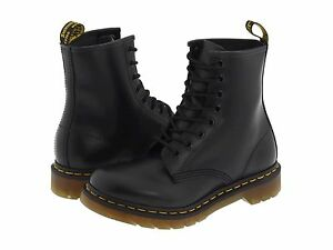 Women\'s Shoes Dr. Martens 1460 8 Eye Boots 11821006 Black Smooth ...