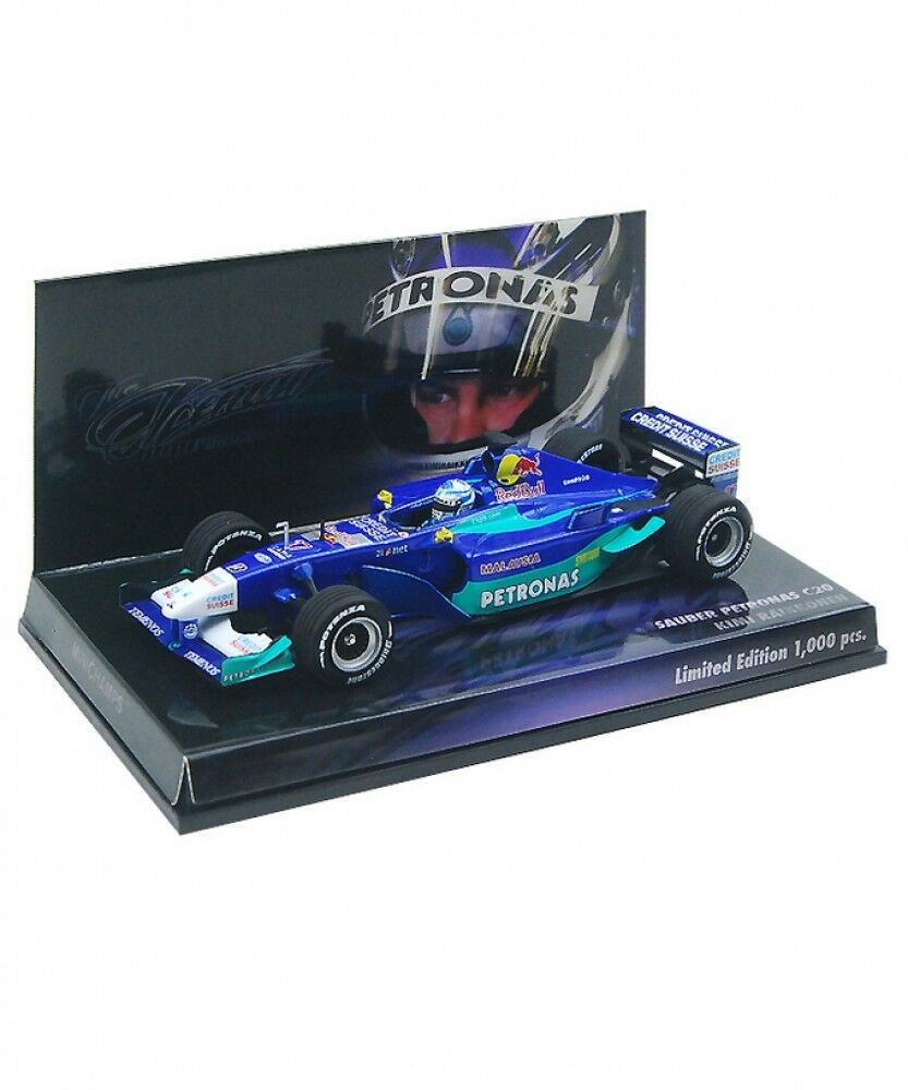 New Minichamps 1 43 Sauber Petronas C20 Kimi Raikkonen 2001 Limited  From Japan