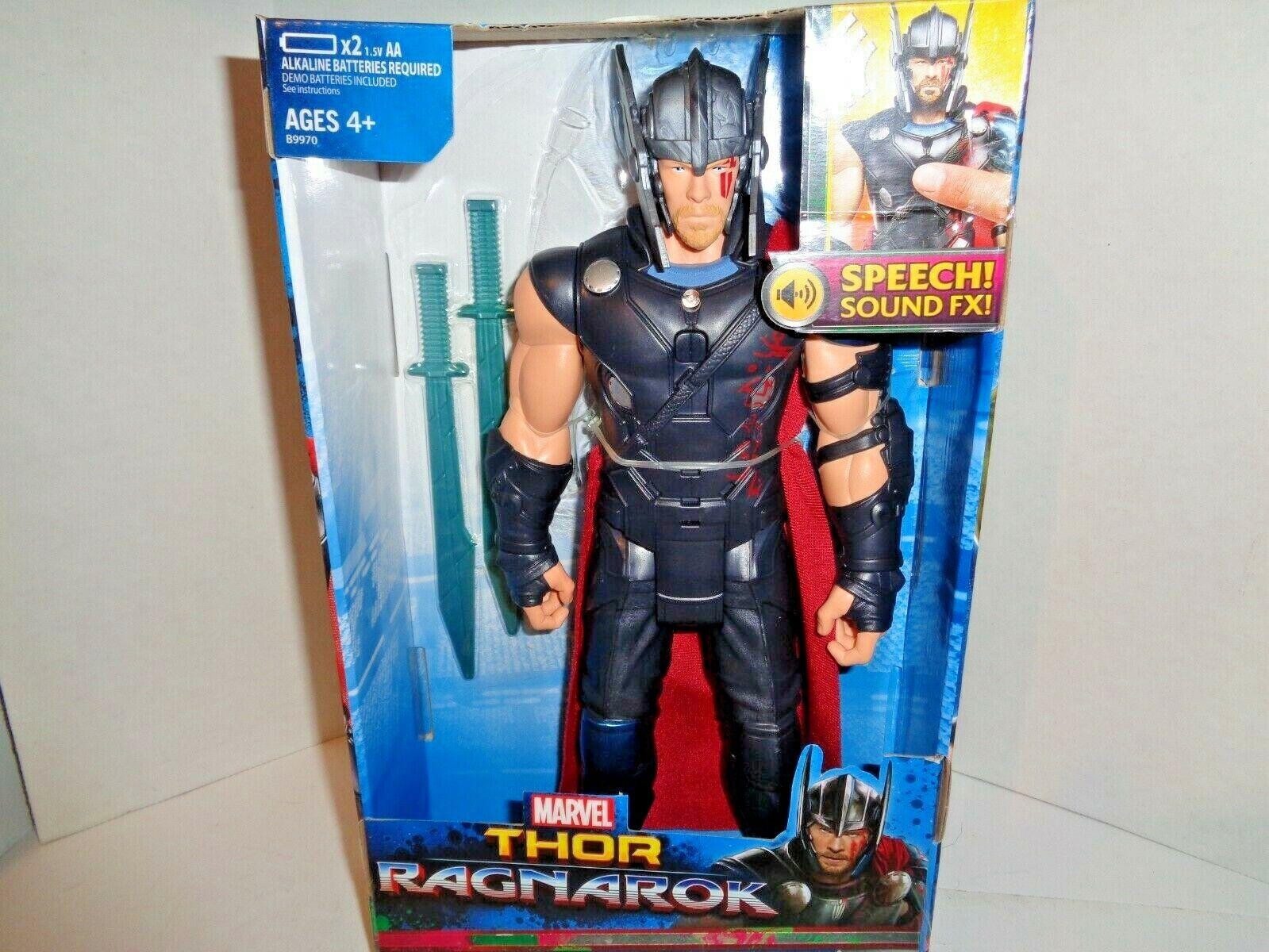 Thor Ragnarok Speech Sound FX Interactive Electronic Thor