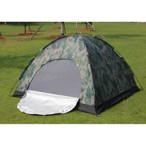 Outdoor-Hiking-2-Person-Family-Camping-Tent-Backpacking-Waterproof-Camouflage