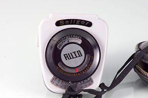 Photometer Soligor Auto Light Meter Selen Ausgezeichnet Made In Japan Arbeiten Belichtungsmesser