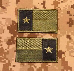Subdued Urban TEXAS State Flag Patch