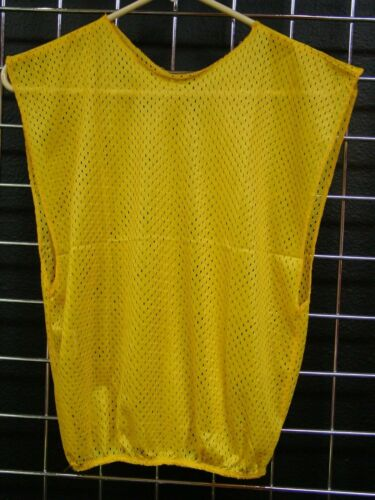 LOT OF 6 SOCCER LACROSSE SPORTS YOUTH JUNIOR MESH PENNY PENNIE Yellow  #2150