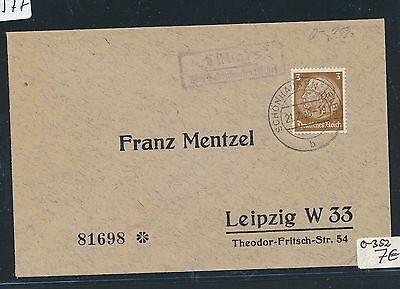 Dr > Ddr Landpost Ra2 Lübars über Schönhausen Hell 90577 elbe Ds 1939 Verbraucher Zuerst