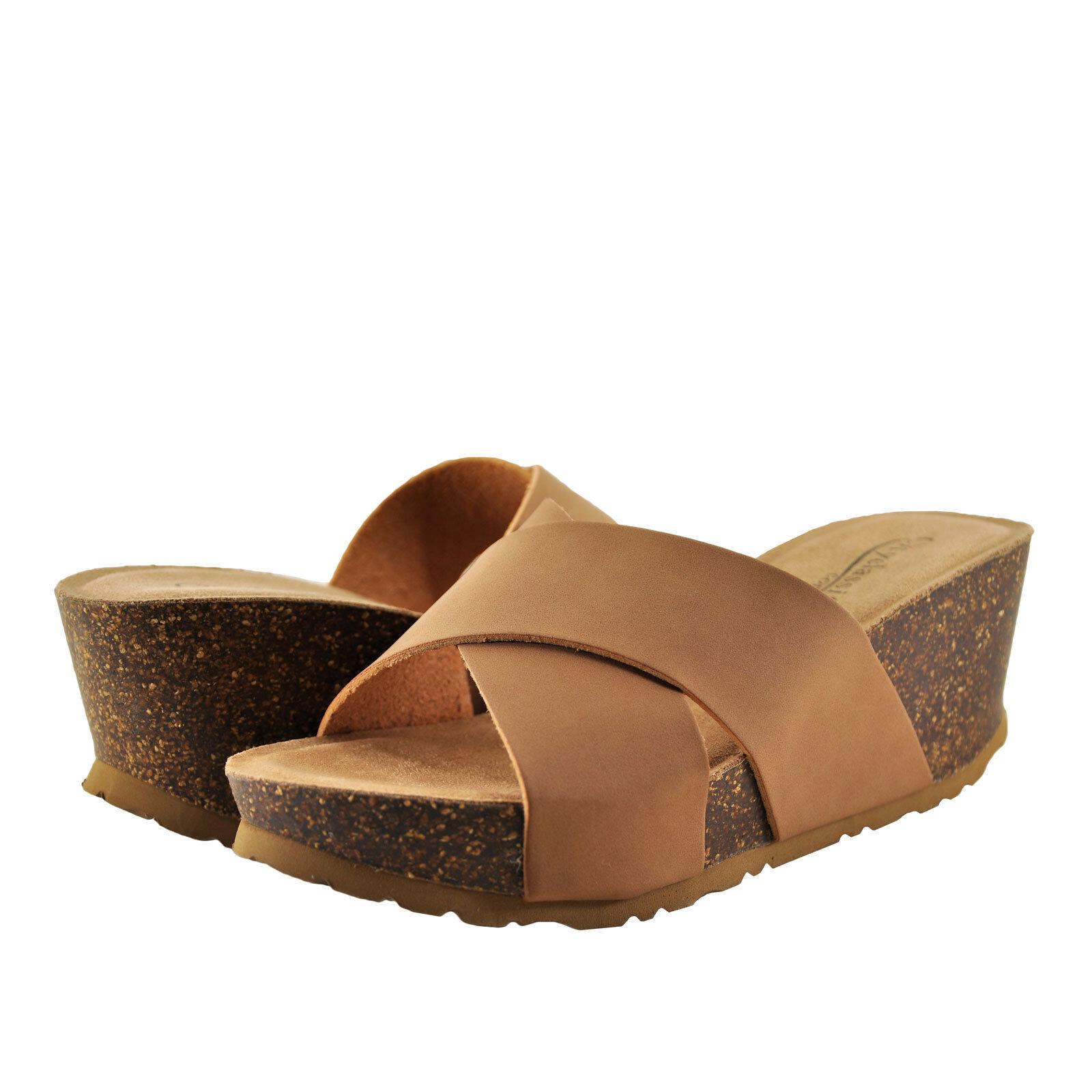 NWT Victoria's Secret PINK Crossed Strap Sport Slides Sandals hologram large