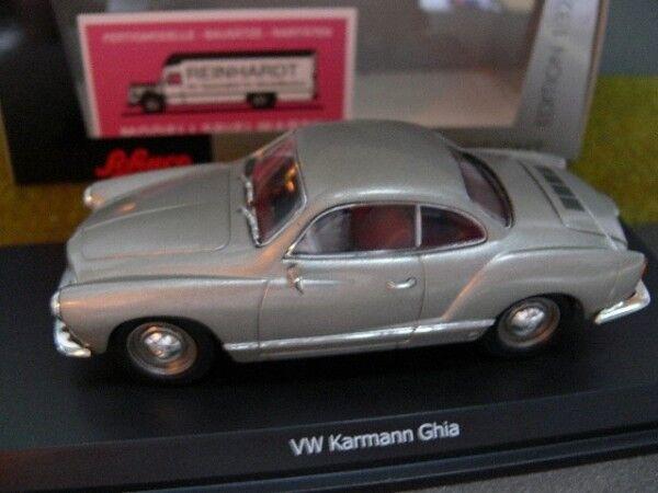 1 32 Schuco VW Karmann Ghia silver 45 077 4600