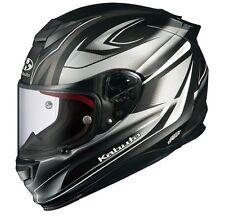 OGK KABUTO RT33 RAPID FLAT BLACK SILVER S Small  Helmet Japanese Model
