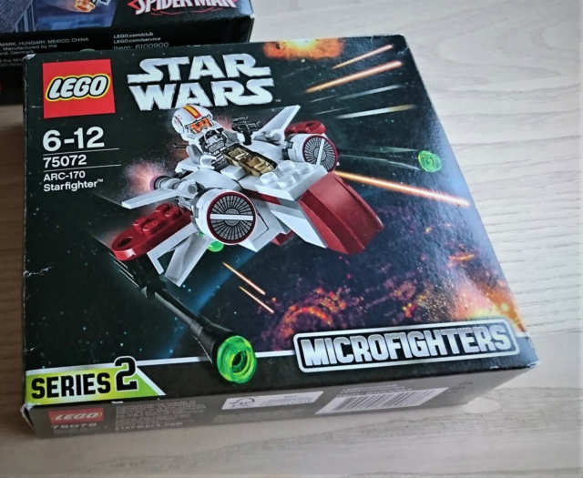 Lego Star Wars,  75072, Microfighters, serie 2 Med både…