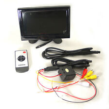 "SDC 15cm 6,2"" TFT LCD HQ Monitor für Auto Rückfahrkamera mit Standfuß Pianolack"