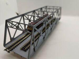 N-Gauge-Trestle-Bridge-Kit-N-Scenic