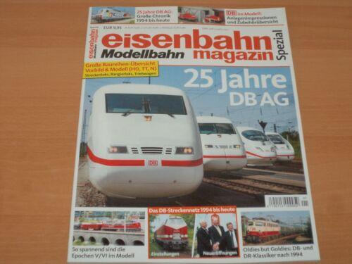Eisenbahn Modellbahn Magazin Spezial 25 Jahre DB AG 2018/2019