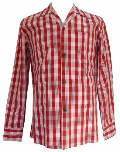 New Arrow Men/'s Heritage Classic-Fit Long Sleeve Yarn-dyed Plaid Polo Shirt $60