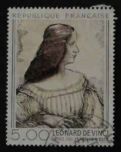 Timbre Poste. France. n°2446. Peinture. Léonard de Vinci.