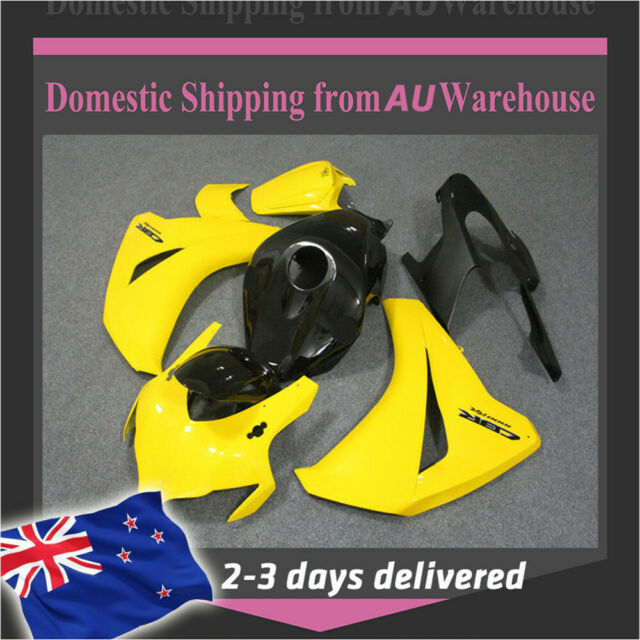 FK Fairing Bright Yellow Injection Plastic Fit for Honda 2008-2011 CBR1000RR