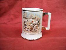 Vintage Arthur Wood Sporting Series Ceramic Cricket Mug circa 1950s