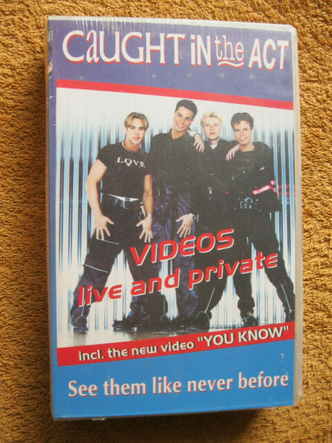 VHS Video Kassette Caught In The Act Videos Live And Private Neu OVP You Know