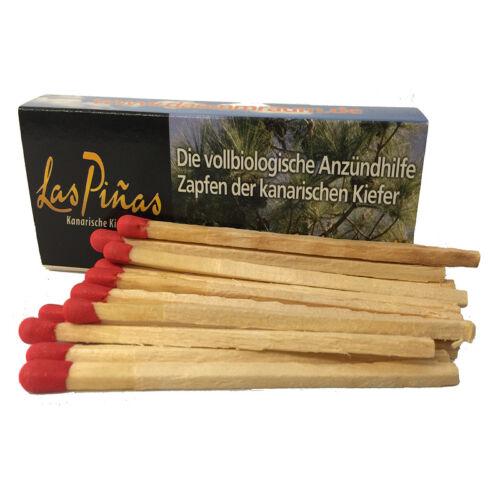 Las Pinas Kanarische Kiefernzapfen Zapfen 1,5kg Bio Anzünder Kaminanzünder Piñas