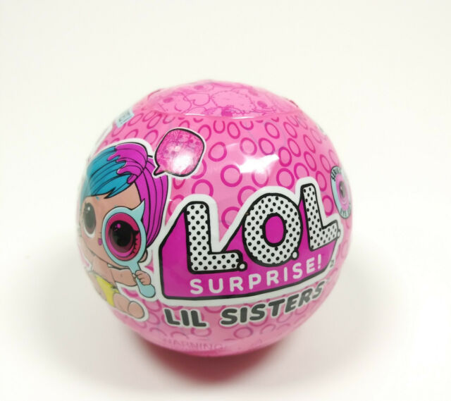 LOL Surprise! Doll Lil Sisters Series Eye Spy - 1 Ball (MGA, 2018) *New Sealed