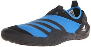 adidas Mens Climacool Jawpaw Slip on Water Shoes Blue Atheletic Running Shoes