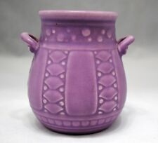 Rookwood Lavender Purple Art Pottery Production Vase 1929