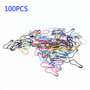 100Pcs-Colore-Tricotage-Point-Marqueurs-Crochet-Verrouillage-Outil-Craft-Ring