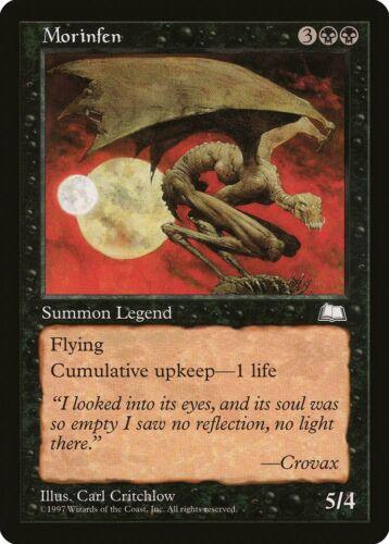 Morinfen Weatherlight HEAVILY PLD Black Rare MAGIC THE GATHERING CARD ABUGames