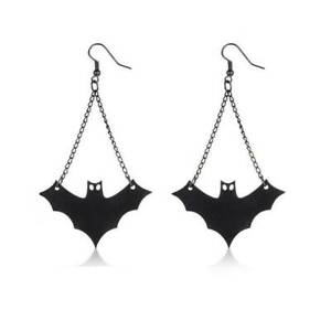 Black-Bat-Vampire-Earrings-Chic-Gothic-Halloween-Fashion-Jewellery