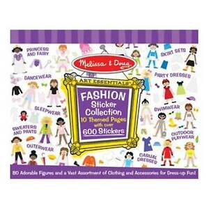 Melissa-and-Doug-Sticker-Collection-Fashion-NEW