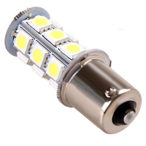 1x 12V 1156 BA15S 5050 7503 1141 18SMD LED White Car RV Trailer Light Lamp Bulb