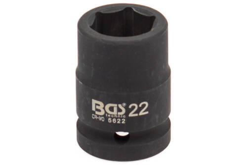 Atornillador eléctrico nuez 3//4 pulgadas SW 22 mm KFZ llave vaso vaso bgs