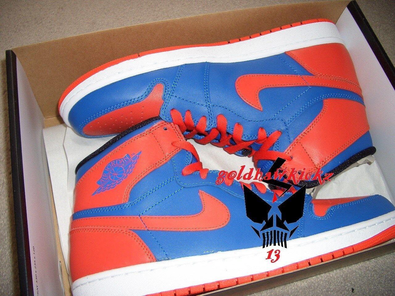 Nike Air Jordan 1 i one Retro High OG bluee orange NYC Knicks new york melo