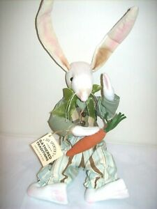 Gallerie-II-034-Dash-034-Rabbit-Gathered-Traditions-Soft-Sculpture-by-Joe-Spencer