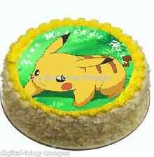 Cake topper edible digital image icing Pokomon REAL FONDANT