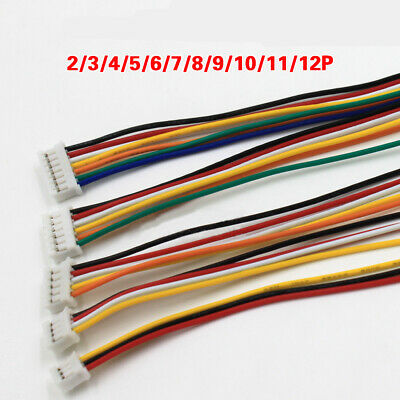 26AWG 2mm PH2.0 2//3//4//5//6//7//8//9~12Pin Terminal with Electronic Wire Cable 200mm