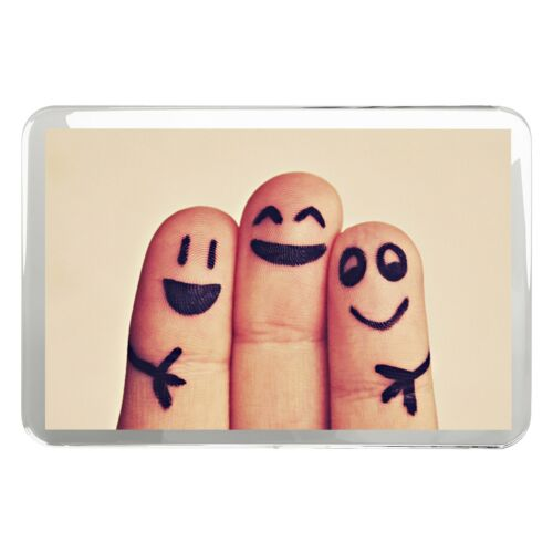 Friendship Bestie Mates Gift #8317 Funny Friends Finger Classic Fridge Magnet