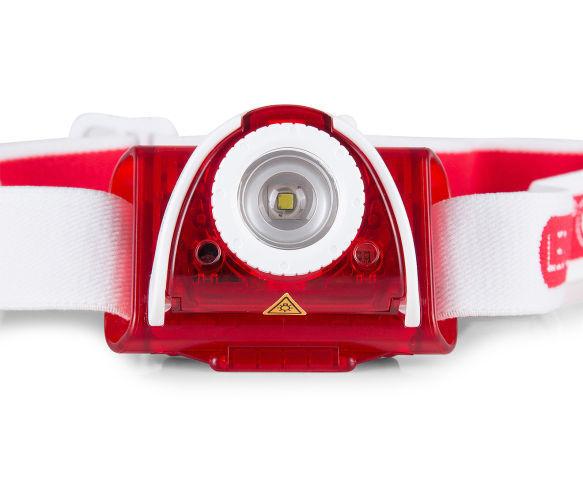 LED LENSER LENSER LED SEO5 HEADLAMP - ROT/Weiß dae804