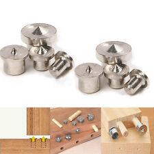 8x Dowel Drill Centre Points Pins Wood 6mm 8mm 10mm 12mm Dowel Tenon Center Set