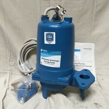 Goulds Water Technology Ws1032bhf Sewage Ejector Pump 1 Hp Discharge 2 In Fnpt