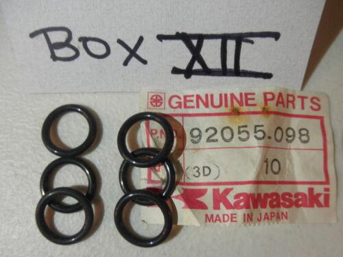 1 UNIT OEM KAWASAKI KZ400 250 KLT200 250 KL250 KLE650 O-RING 92055-098 1 UNIT