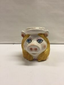 Vintage-Miss-Piggy-Ceramic-Mup-Cup-Muppets-Sigma-The-Tastesetter-Henson-Assoc