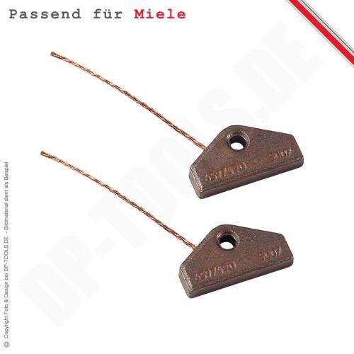Spazzole di Carbone Stiftkohlen per Miele Asciugatrice 5153702 senza Supporto