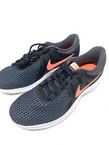 Women's Nike Revolution 4 Black Crimson