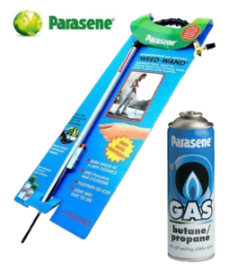 PARASENE-GARDEN-WEED-WAND-KILLER-BURNER-BLASTER-BURNING-TORCH-AND-1-GAS-CANISTER