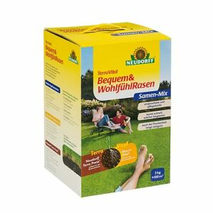 NEUDORFF-TerraVital-Bequem-amp-Wohlfuehl-Rasen-3-kg-Rasensamen-Raasensaat-Samen