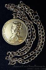 France 41mm Bronze Marie Antoinette Duviviers Medal Marriage Celebration.