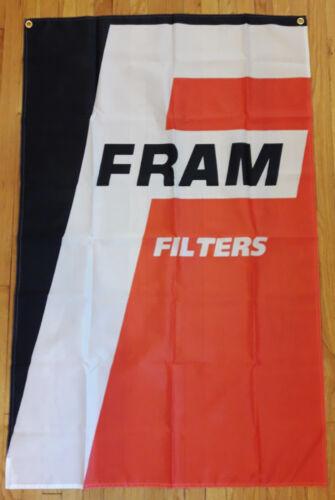 Fram Filters Flag Garage Man Cave Automotive Mechanic Banner 5X3 FT